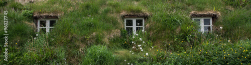Ancient houses in Holar, Iceland #96027745
