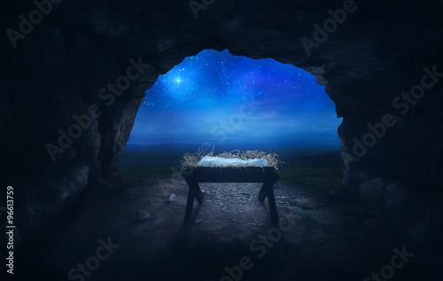 Fototapeta Manger in cave