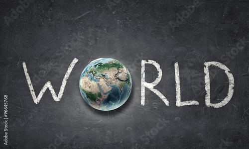 Earth planet completing word world #96645768