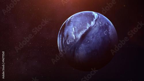 Fotografia Neptune - High resolution best quality solar system planet