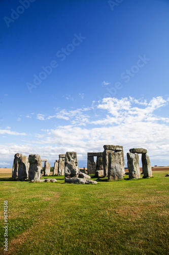 Obraz na plátně Historickou památkou Stonehenge