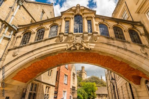 Stampa su Tela Bridge of Sighs,  Oxford University