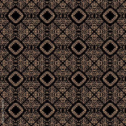 Wallpaper Mural vector seamless pattern