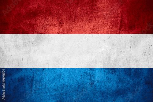 Wallpaper Mural flag of Holland