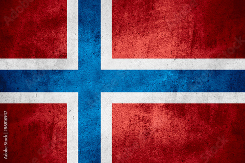 flag of Norway Poster Mural XXL