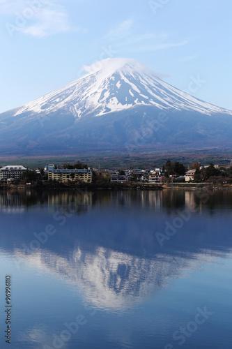 Mount Fuji in kawaguchiko lake side. #96996110