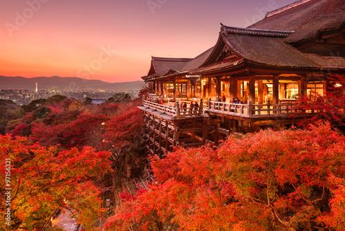 Fototapeta premium Kiyomizu Temple of Kyoto, Japan