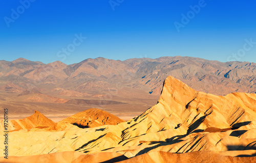 Panorama of the Death Valley rocks #97207165