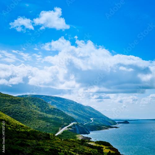 Canvastavla Scenic Road Cabot Trail Cape Breton Island NS Canada