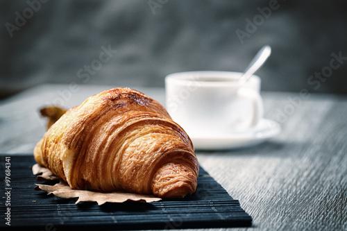 Fotografía croissant