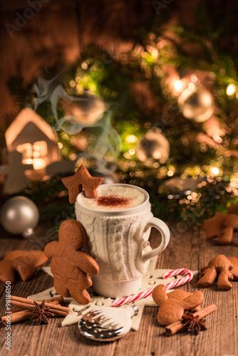 Christmas chocolate drink #98186150