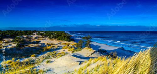 Panorama pejzaż morski #98271950