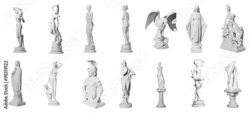 antique sculptures