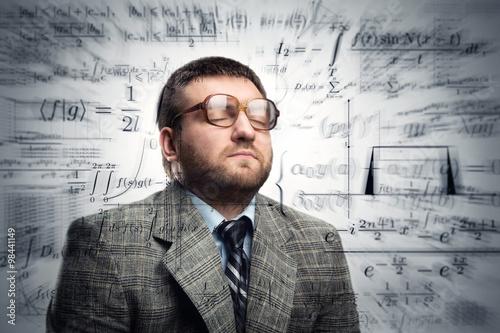 Businessman in glasses