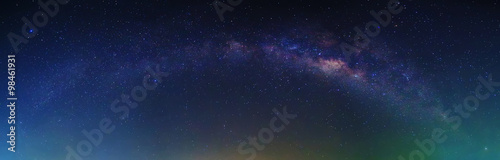 Fotografie, Obraz Milky Way with stars and space dust at night