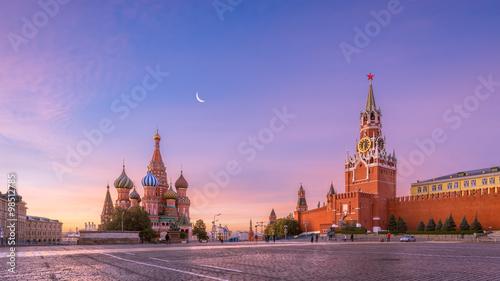 Photo Красная площадь утром
