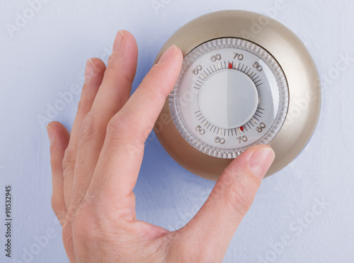 Wallpaper Mural Home Thermostat