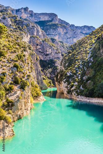 Slika na platnu Gorges Du Verdon Canyon Between Two Cliffs-,France