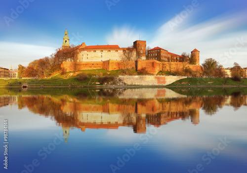 Fototapeta Zamek Królewski na Wawelu, Kraków na wymiar