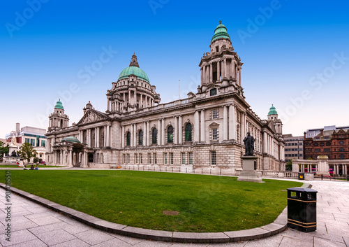 Belfast City Hall et Donegall Square Poster Mural XXL