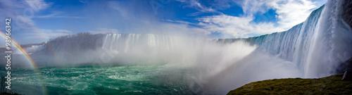 Folia na okno łazienkowe Panorama wodospadu Niagara