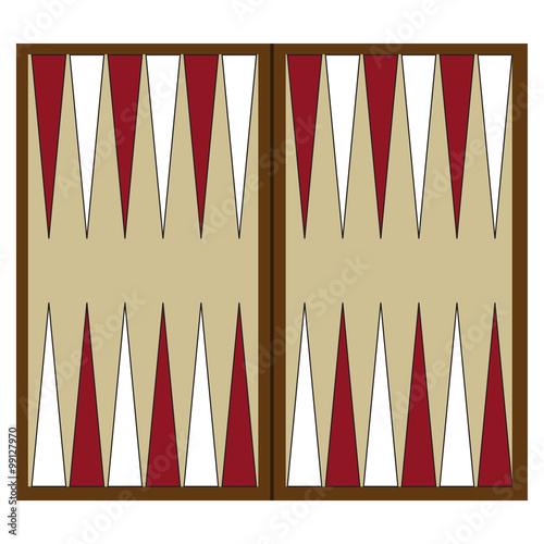Tela Backgammon game