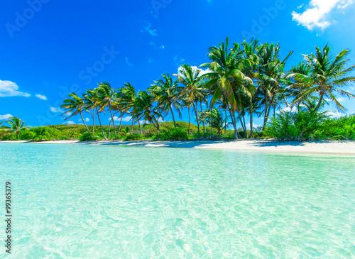 Leinwand Poster Tropischen Meer