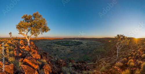 Tableau sur Toile Wolfe Creek Crater, Western Australia