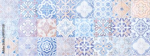 Fotografie, Obraz vintage tile texture