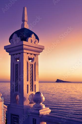 Balcón del Mediterráneo en Benidorm. Mirador.