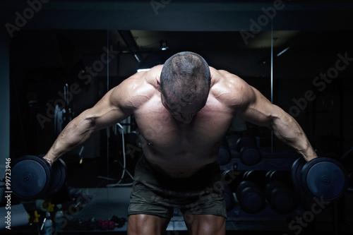 Canvas Print bodybuilder 16