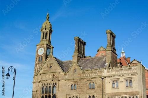 Fototapeta Chester Architecture, Grosvenor street, Chester, Cheshire, UK