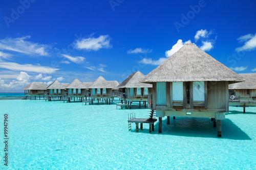 Maldivian water bungalows