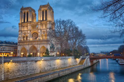 Stampa su Tela Notre Dame, Paris, France