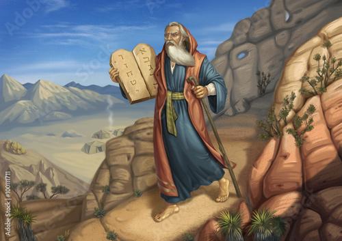 Fototapeta Moses