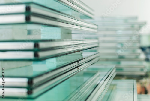Sheets of Tempered Window Glass