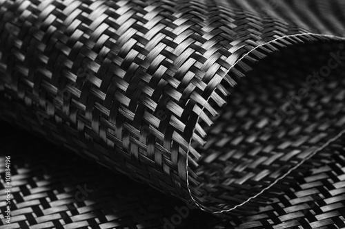 Leinwand Poster Carbon-Faser-Tuch-Gewebe.