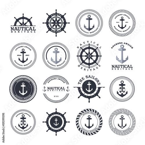Tela sailor anchor theme