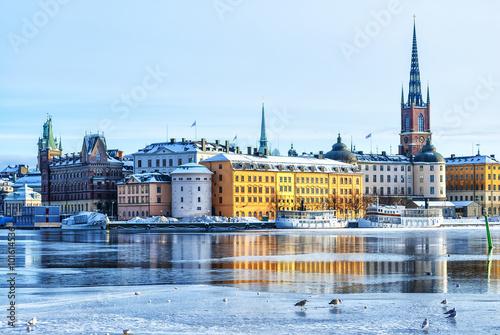 Wallpaper Mural Stockholm Old Town