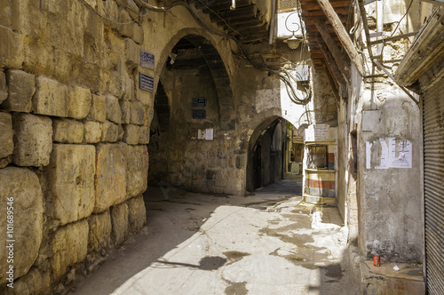 Street in old Damascus
