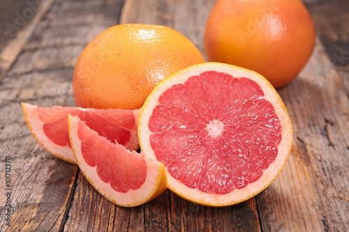 Tablou Canvas red grapefruit