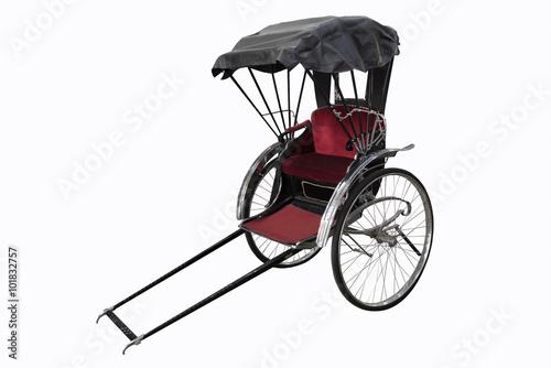 Fototapeta Japanese Rickshaw