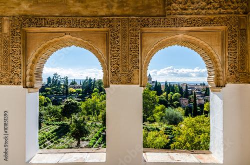 Canvas Print Alhambra Alhandalus
