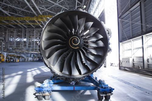 Wallpaper Mural jet engine