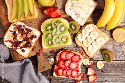 фотография breakfast toast