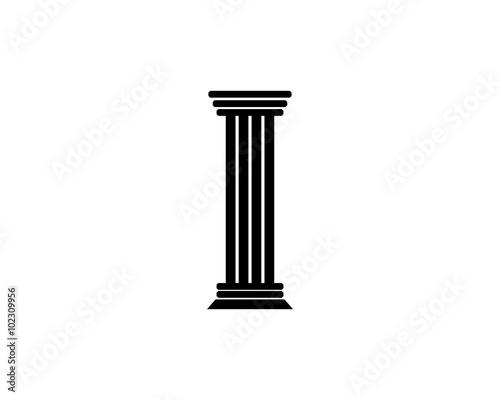 Fotografie, Obraz Pillar Icon