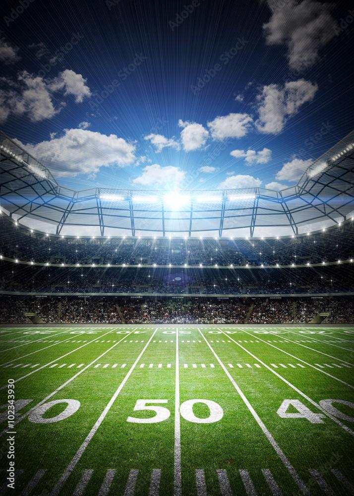 Amerykański stadion piłkarski <span>plik: #102343930   autor: efks</span>