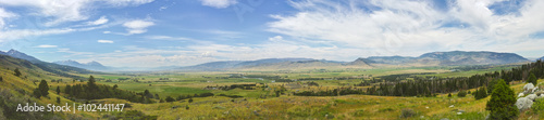 Photo Montana's Paradise Valley in Panorama