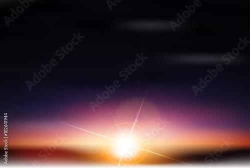Fotografie, Tablou 空 雲 風景 背景