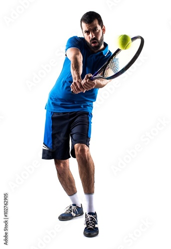 Canvas Print Tennis player